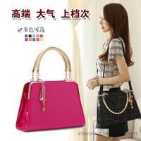 Fashion 2014 women's bags patent leather handbag cross-body shoulder bag japanned leather married bag
