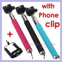 Selfie Rotary Extendable Handheld Camera Tripod Mobile phone Monopod for Digital Camera phone i9300 i9500 5S DV