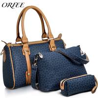 Fashion orfee 2014 women's handbag the trend of fashion one shoulder cross-body handbag women's picture bags