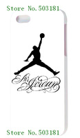 2014 hot!wholesale 1pc air jordan logo  hard case back cover for iPhone 5 5th 5G+free shipping
