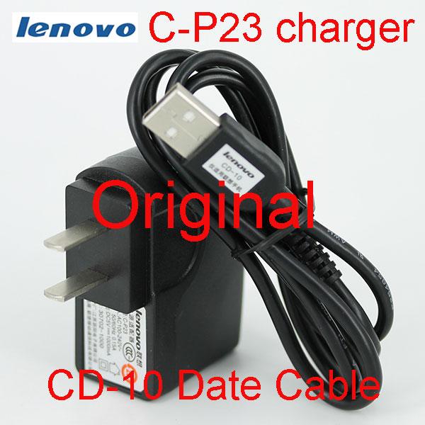 Lenovo Original C-P23 1000mA USB Charger+CD-10 USB Cable for Lenovo A850 K900 K910 S820 S830 S720 A660 A880 S939 S930 AND SO ON(China (Mainland))