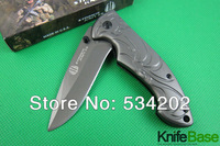 2014 New Strider B47 folding knife Tactical knives 3CR13 57hrc Quick opening full aluminum handle hunting tools wholesale