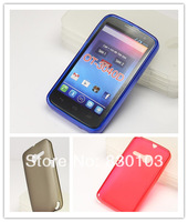Pudding Gel TPU Skin Case Cover For Alcatel One Touch Tribe 3040/OT-3040D/3040D Free Ship