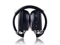 Wireless infrared headphone with two channels for car headrest dvd player or roof mount car dvd player