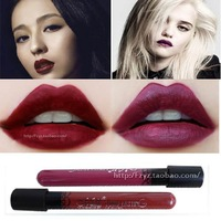 New Arrival Waterproof Elegant Dark Vampire Color Lipstick matte smooth lip stick lipgloss Long Lasting Party Queen Lip Makeup