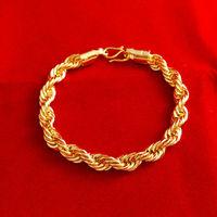 2014 New bracelet! Wholesale Free shipping 24k gold bracelet  red rope chain bracelet  fashion jewlery  fashion bracelet C025