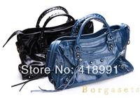 Free Shipping First Layer Oil Wax Genuine Leather Motorcycle Bag Handbag Multifunction Women Handbags Shoulder Diagonal Bag
