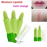 100% Natural Healthy Moisture Magic Lipstick Temperature change color anti-aging protection lip balm