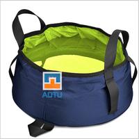 New 8.5L Ultralight Portable folding Outdoor Car wash basin travel folding water basin camping bucket fishing foldable basin bag