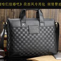 special offer high quality real leather shoulder bag leather handbag man business office computer bag direct marketing b123P5