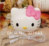 Hello Kitty cute cute cartoon portable speakers MP3/4 speaker speaker mini speaker
