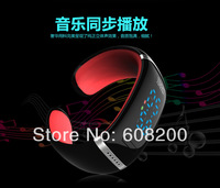 Free Shipping Newest Bluetooth Baracelet Smart Watch Bluetooth 3.0 Handsfree Call Anti Lost Reminder  Watch Phone