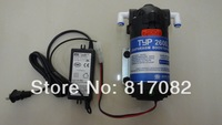 24V 100GPD  RO Water Booster Pump 2600DH +Booster Pump Transformer Input 100-240V, Output 24V