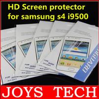 Super Clear HD Samsung Galaxy S4 Screen Protector Wear-resistant Samsung Galaxy  I9500 Screen Protector 50pcs/lot free shipping