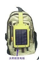 For camping travel festivals Outdoor Exercises mobile phone Solar Panel Power 2.4W 6V400mAh USB Battery Charger backpacks tents