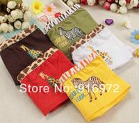 Hot sale Cotton Panties low waist Zebra pattern girl's sexy /cute panties  11.36$/4pc Free shipping