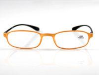 Reading Glasses Reader Orange & Black Frame +1.0 +1.5 +2.0 +2.5 +3.0 +3.5 +4.0