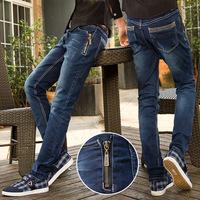 **.Spring Summer style Korean Slim / zipper fashion s casual cotton pants feet