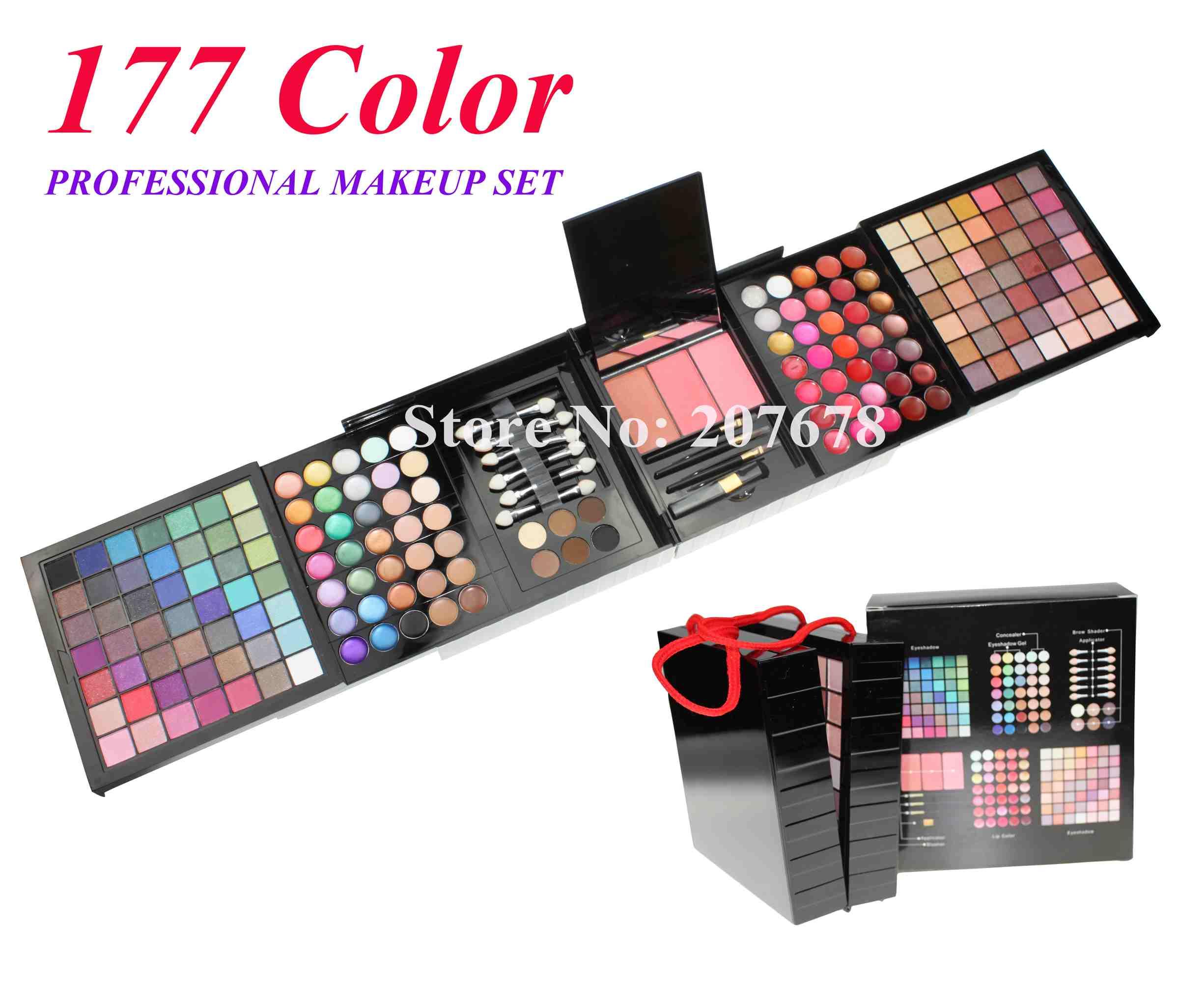 Livraison gratuite 177 color pro ensemble de maquillage - Meilleure palette maquillage ...