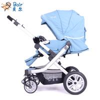 Bair B988 inflatable tyre shock bell baby stroller pram four wheel trolley