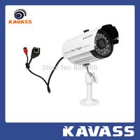 KAVASS HD CMOS 1.0 MegaPixel  720P mini outdoor waterproof IR Home Security  IP video surveillance CCTV Camera CLG-A611M1