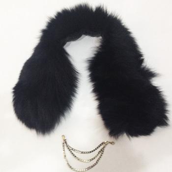 Zuolla fox fur collar women's short scarf collar fur collar(China (Mainland))