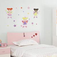 The third generation wall stickers child real marouflage cartoon wallpaper applique jm8194