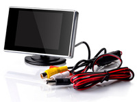 Free Shipping ,3.5-inch Digital TFT LCD Car Rear View Monitor for Reverse Backup Camera