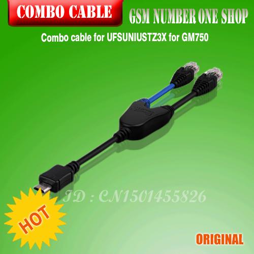 100%original Combo cable for UFSUNIUSTZ3X for GM750(China (Mainland))
