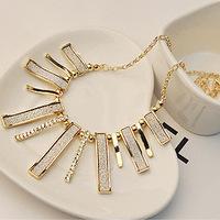 Accessories fashion irregular geometry scrub necklace short necklace chain female
