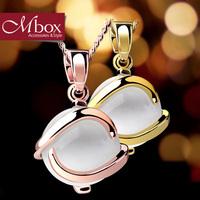 Mbox necklace fashion accessories - eye pendant bohemia chain