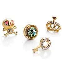 Mbox stud earring female 925 pure silver zhaohao fashion piece set earring sweet bohemia