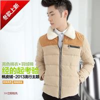 2014 New Arrival Korea Style Thicken Cotton Jacket Slim-sided Korean Slim thick warm coat jacket
