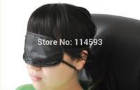 Black Eye Mask Shade Nap Cover Blindfold Sleeping Travel Rest New Hot Sale