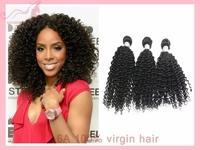 Brazilian Virgin Hair Deep Curl Wave 6A Grade Top Quality 100% Human Virgin Hair GALI Queen Hair 3pcs/lot DHL free shipping