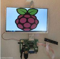 "9"" TFT LCD Display Module HDMI+VGA+2AV Driver Board for Raspberry Pi"