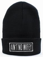 Ant no wieey Classic logo Beanie knit caps in yellow men & women's designer casual beanies hats