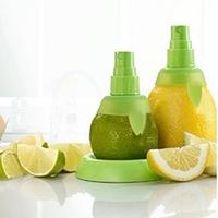 1 set Cooking Tools Lemon Fruit Citrus Lime Orange Stem Sprayer Juice Maker Juicer Kitchen Supplies