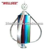 Wellsee CE,RoHS certified,VAWT WS-WT400 400W vertical maglev wind turbine generator