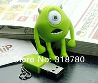 High Qualtiy Funny 8GB 8G 16G 32G Cartoon USB 2.0 Flash Memory Stick Pen Drive USB Frash Drives Gift