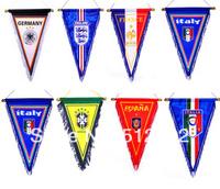 Football Fans Crafts Supplies Birthday Gift Souvenir Fans Bar Pennant Flag