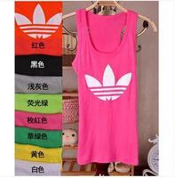 1PCS Free shipping Women vests 2014 wild Slim Korean cotton candy color rendering vest fashion vest