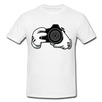 Spring Trendy Discount Mickeys Camera Printing Men Tees Custom