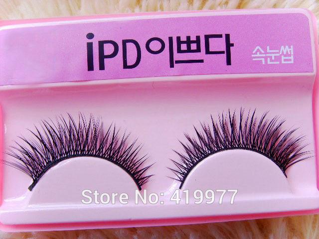 New Arrival Handmade False Eyelashes Natural Lengthening Long Nude Makeup Lips 011 Free Shipping(China (Mainland))
