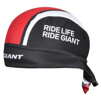 New Arrival Pirates scarf headsweats 2 pcs Bandanna 2014 GlANT RED BLACK dress hat cycling head wear cap sweat blocker