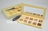 Free Shipping! LORAC UNZIPPED 10 color eyeshadow palette + Eye Primer Makeup set