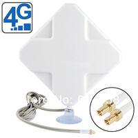 35dBi Signal Amplifier Antenna CRC9 Connector for 4G Broadband Modem 4G Antenna Huawei E392 E398 E5776 E5372 E3276 E3272 E8278