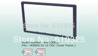 Fascia Panel Audio Panel Frame Dash Kit For Honda 02~12 CRV  For Retail/Pcs  Free Shipping