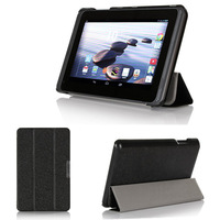 Trip-fold Stand Book Case for Acer Iconia B1-720 Tablet Protective Shell Ultra-thin Cover  Free Shipping