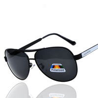 2014 new fashion brand designer polarized sunglasses male metal frame Polaroid lens sunglasses driving mirror Special 2152